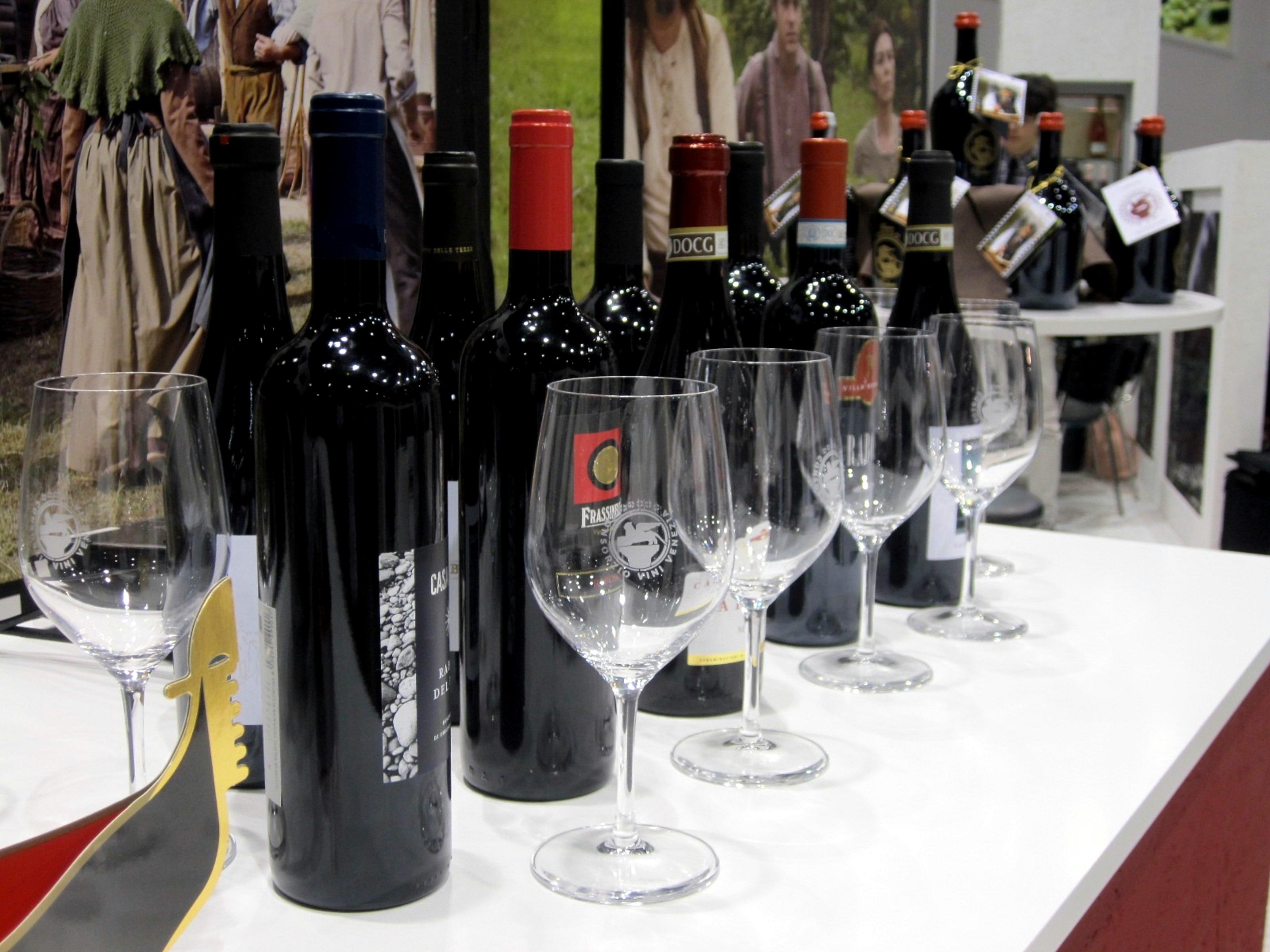 Bottiglie per VWF